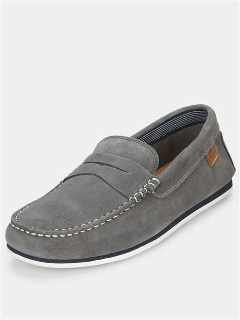lacoste loafers sale lacoste lacoste chanler mens loafers in gray for grey
