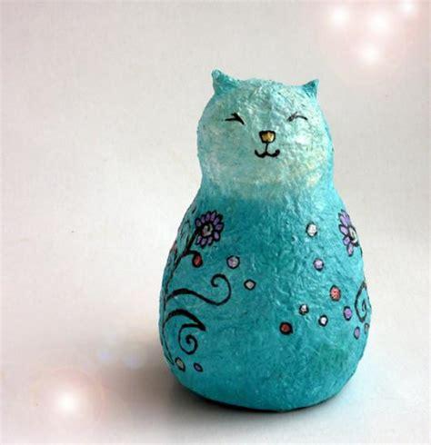 How To Make A Paper Mache Cat - papier mache galleries anat bar am
