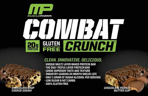 Musclepharm Combat Crunch Mp Combat Crunch Protein Bar 1 musclepharm combat crunch bars www supplementscanada