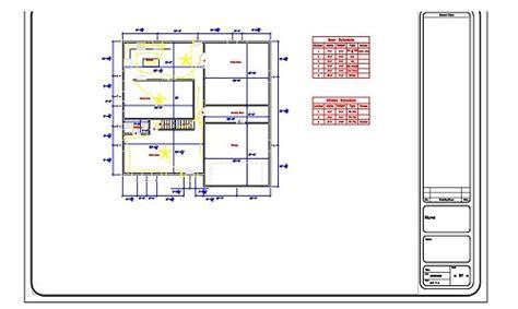technical drawing floor plan polakoff tech ed technical drawing