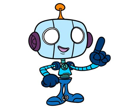 imagenes de robots kawaii dibujo de robot simp 225 tico pintado por baltazar en dibujos