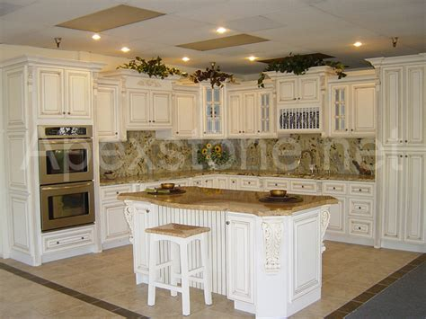 White Antiqued Kitchen Cabinets Antique White Kitchen Cabinets Home Design And Decor Reviews