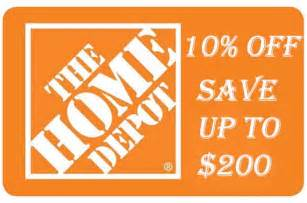 home depot 10 percent three 3 home depot 10 printable instore only