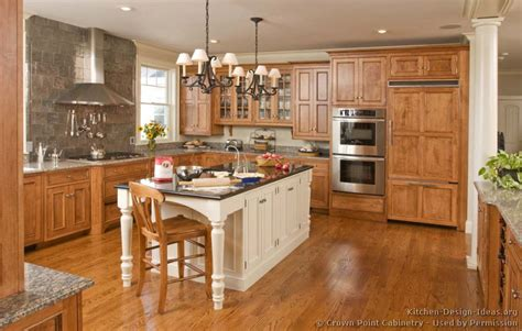 white kitchen wood island pictures of kitchens traditional two tone kitchen