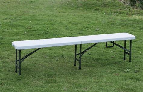 plastic folding bench 6 foot fold in half plastic folding bench ningbo bx