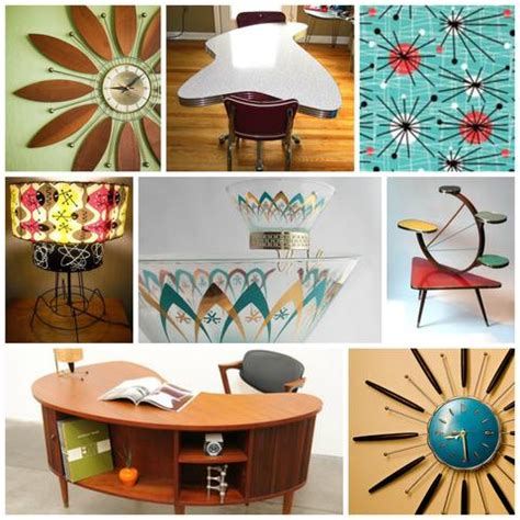 Atomic Home Decor | mid century home d 233 cor trends vintage virtue