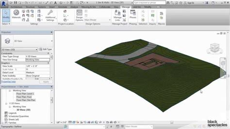 revit tutorial topography revit 2015 tutorial creating topography with the