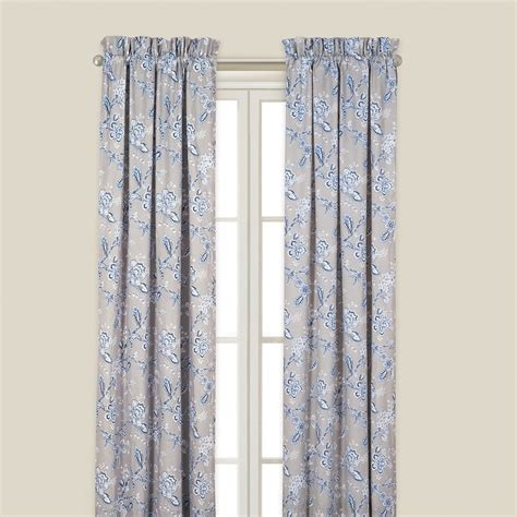 drapery panels 84 blue annabelle drapery curtain panels 50 quot x 84 quot