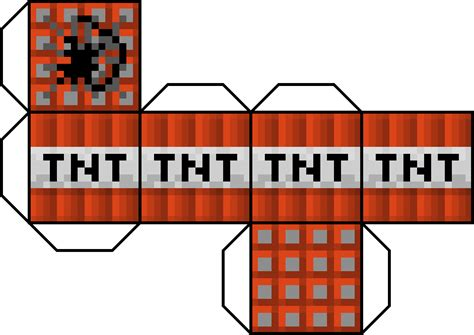 minecraft tnt block template minecraft papercraft tnt beautiful scenery photography