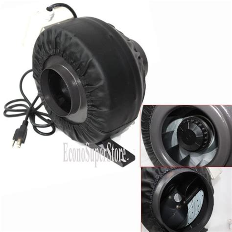 10 inch inline fan with carbon filter 8 quot x 42 quot carbon air filter pro combo 8 inch inline fan
