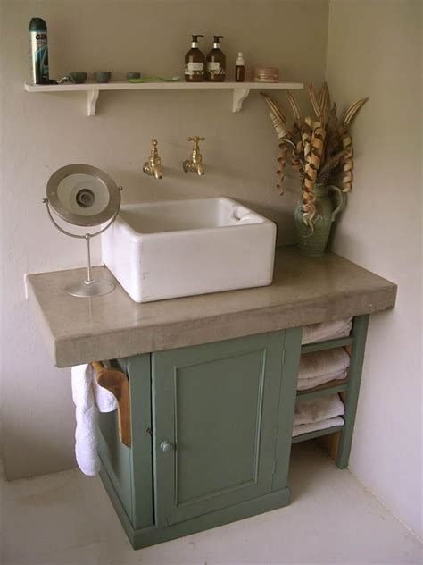 belfast sink bathroom shaker style sink unit hand painted farrow and ball