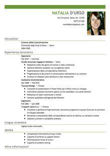 segretaria ufficio legale esempio curriculum segretaria curriculum vitae 2018