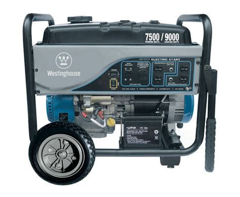 amazon com westinghouse wh7500e portable generator