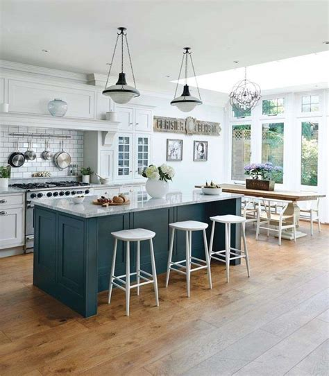 kitchen island with bar seating kitchen diners period living kitchens eating areas