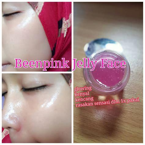 Jelly Pink Glowing Alpha Arbutin 1kg been pink jelly kulit wajah glowing bebas flek