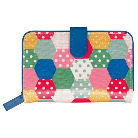 Patchwork Wallet - cath kidston mini patchwork spot folded zip wallet