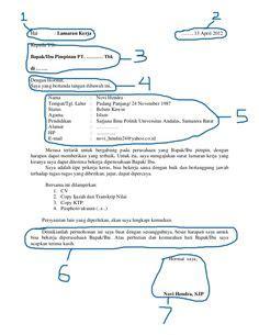 7 surat lamaran kerja akuntansi dalam bahasa inggris