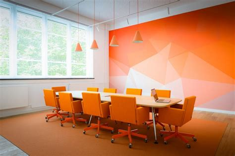 Orange Office by Rb2 Netherlands Myeoffice Workplace Design And