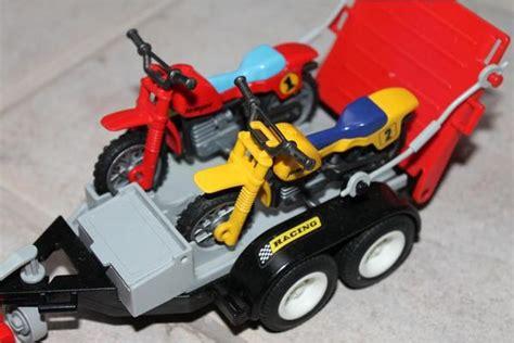 Bauernhof Motorrad Spiele by Playmobil Jeep Mit Motorrad Anh 228 Nger In Ingolstadt