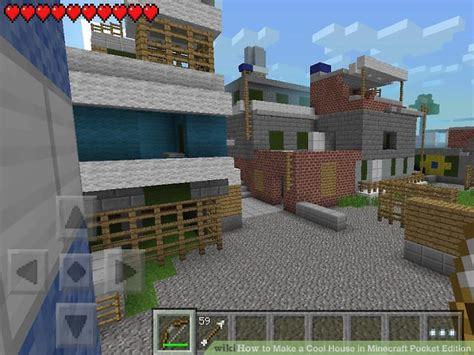 how to make a house in minecraft pe how to make a cool house in minecraft pocket edition