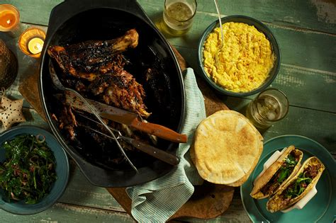 Food Network Kitchen Show by Slow Roasted Lamb Shoulder Shawarma Recipes Sbs Food