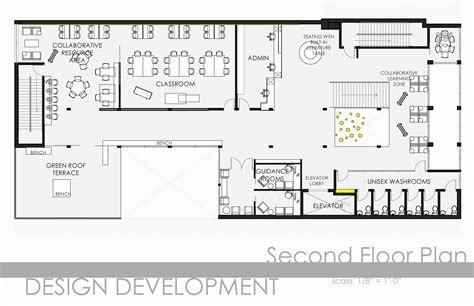 floor plan symbols illustrator thesis alternative education facility by sania khan at