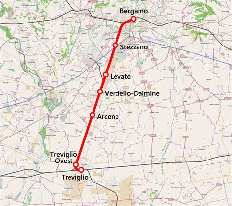 collegamenti pavia ferrovia treviglio bergamo