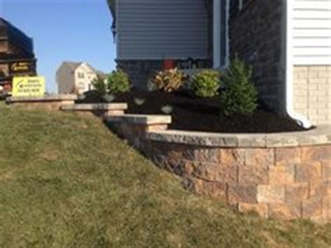 Landscape Supply Yard Hanover Pa A Retaining Wall Is Used On This Project To Level The