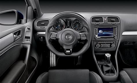 Vw Golf R Interior by Car And Driver