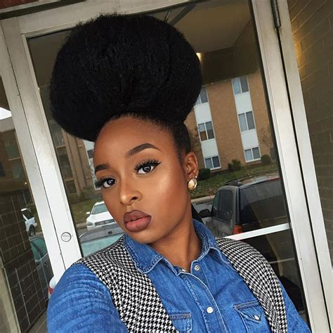 how to see myself with black hair 17 best images about afro puffs on pinterest natural