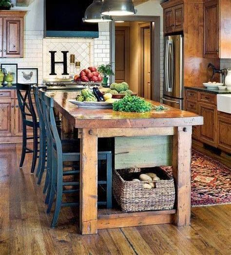 kitchen island farm table reving the breakfast area farmhouse kitchen island