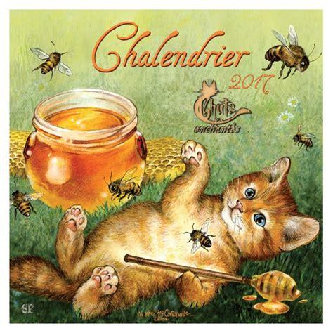 Calendrier De Chat Chalendrier 2017 Le Calendrier Des Chats De S 233 Verine Pineaux