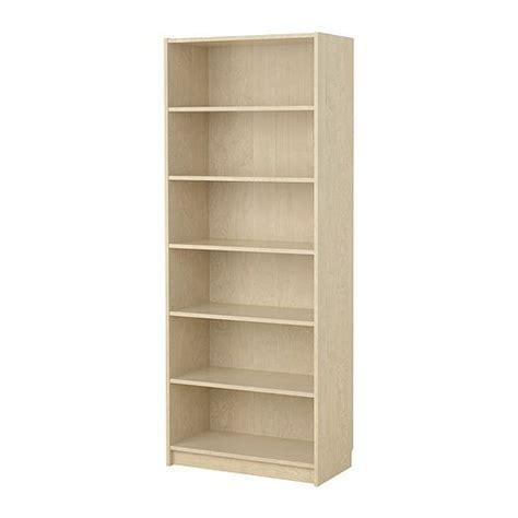 ikea billy bookcase 80x39x202 birch veneer only