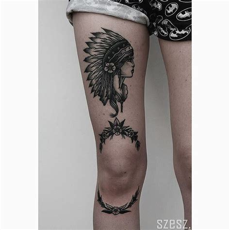 knee tattoos 63 best knee tattoos images on knee
