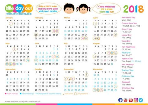 new year 2018 singapore holidays singapore holidays school holidays 2018