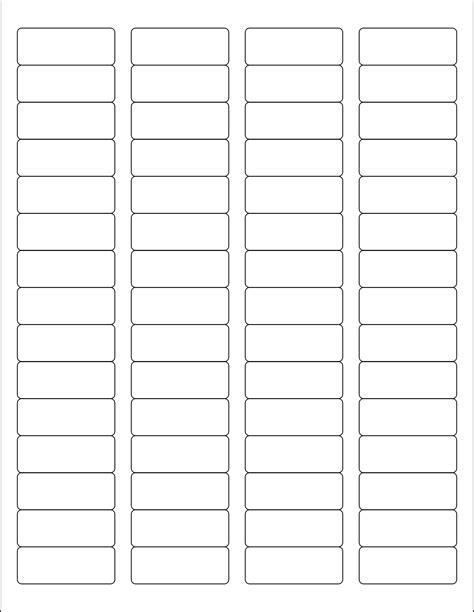 Return Address Label Templates 30 Per Sheet