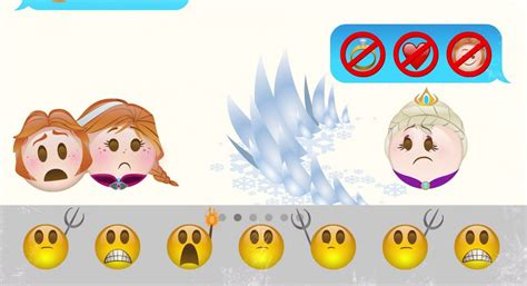 disney film in emoji disney s frozen retold in emojis is the cutest thing you
