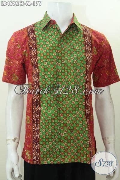 desain baju batik remaja laki laki baju hem batik laki laki kemeja batik halus motif keren