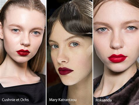 Fall Makeup Trends The Lip by Fall Winter 2016 2017 Makeup Trends Fashionisers
