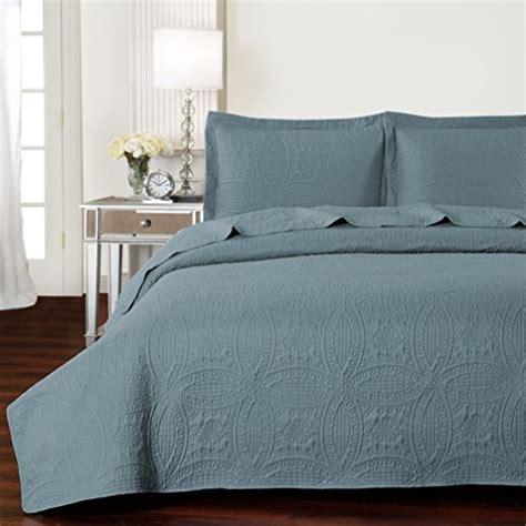 mellanni comin18ju044105 mellanni bedspread coverlet set