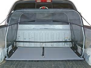 Canopy Truck Bed by Bushwhacker 174 Paws N Claws K9 Canopy W Pad And Tether