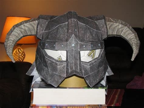Iron Papercraft Helmet - skyrim iron helmet 1 by superjay14 on deviantart