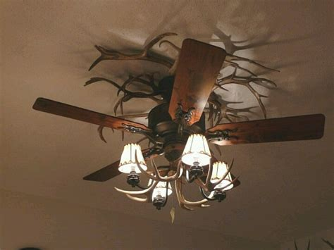 antler chandelier ceiling fan another antler ceiling fan cabin decor