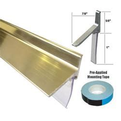 Shower Door Sweep Replacement by Framed Shower Door Replacement Drip Rail Chrome Framed