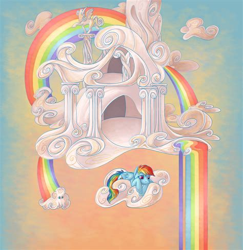 Rainbow Dash Cloud Iphone All Hp rainbow dash s cloud home by nikohl on deviantart
