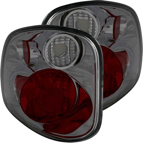 2001 f150 lights 2001 2003 f150 anzo flair side taillights smoked 211175