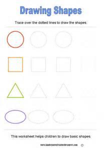 Free printable shapes worksheets kindergarten