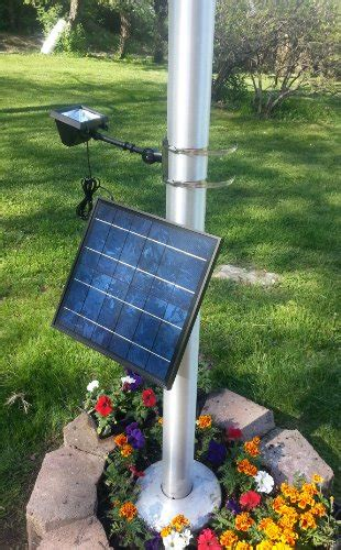 valley forge solar flagpole light valley forge flag hecsfpl 12 high end commercial led solar