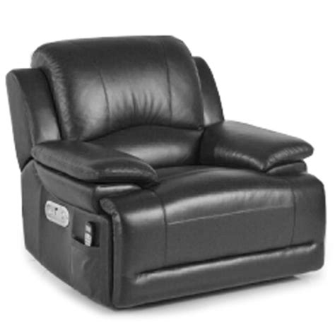 Lazy Boy Heated Recliner by La Z Boy Gizmo Electric Recliner Black Drinkstuff