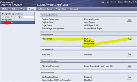 xerox workflow scanning setup workflow scanning issue on wc 7855 after firmware